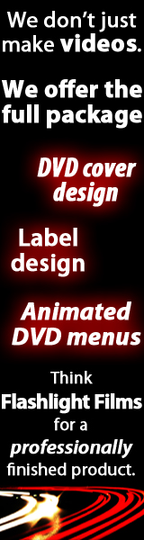 DVD design advert
